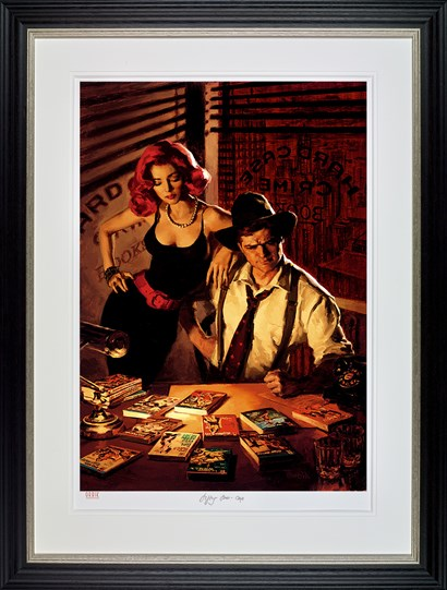 Fifty -To - One by Glen Orbik - Framed Limited Edition on Paper